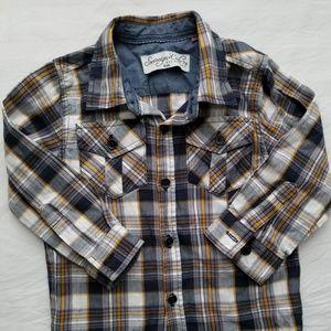 Other - Button down shirt size 18 M plaid